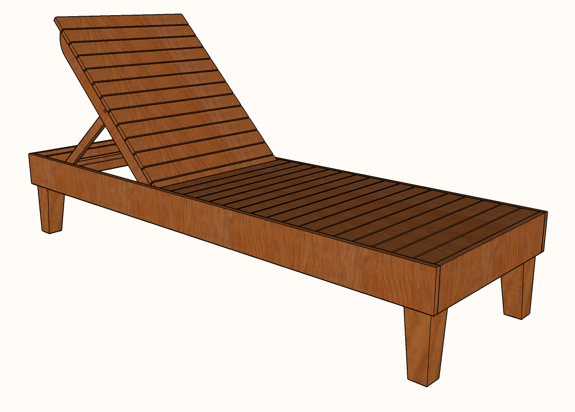 Diy Chaise Lounge Chair Plans Famous Artisan